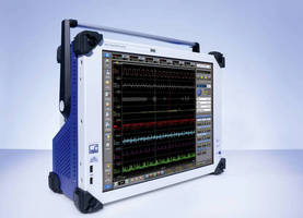 High Speed Data Recorder has 4, 8, or 16 input channels.