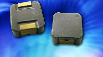 Inductor has pressed powdered iron alloy core construction.