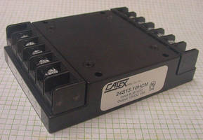 Chassis Mount DC/DC Converters suit harsh industrial/COTS applications.