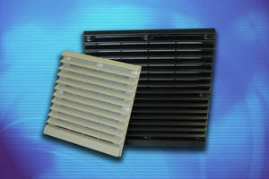 Filtered Louvered Fan Guards suit enclosure applications.
