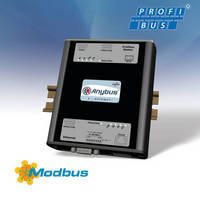 Gateway bridges Profibus and Modbus-TCP networks.