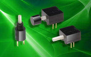 Subminiature Detect Switches feature through-hole design.