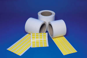 Wire & Cable Marking Labels are offerd for thermal transfer printing.