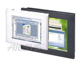Industrial Panel PC offers IP65 protection on front bezel.