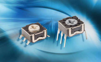 Rotary DIP Switches have lifespan of 3,000 hr at 150°C.
