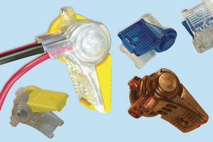 Snap-In Wire Connectors are suited for extreme environments.