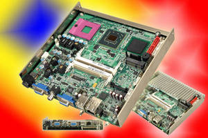 Fanless Embedded Embedded Computer supports media-rich applications.