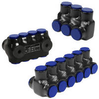 Pre-Insulated Connector is available in 2, 3, 4, or 6 ports.