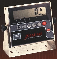 Weight Indicator works with bench or floor scales.