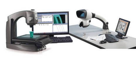 New Video Measuring Machine & Stereo Inspection Solutions