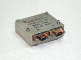 MIL Grade Strain Gage Amplifier suits aircraft applications.