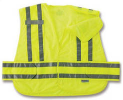 Expandable Public Safety Vest is ANSI 207 compliant.
