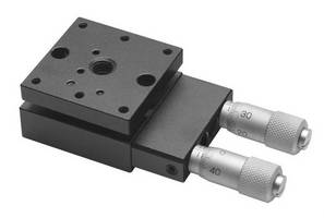 Tip-Tilt Stages control both optics and mounting posts.