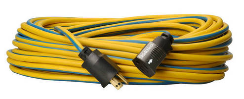 Locking Extension Cords suit jobsite and outdoor use.