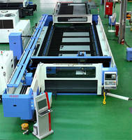 Laser Cutting System does not require table repositioning.