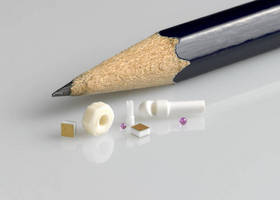 Precision Ceramic and Glass Microcomponents Available through Goodfellow