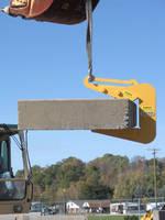 Concrete Slab Lift features space saving design.