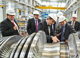 Siemens Steam Turbine Manufacturing Plant Welcomes BS-Energy Board Members