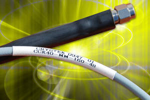 Low-Loss RF Coaxial Cable Assembly operate up to 40 GHz.