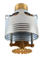 Quick Response Concealed Sprinkler covers up to 20 x 20 ft.