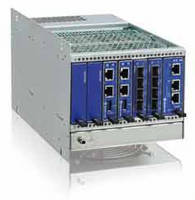 MicroTCA(TM) Platform is offered as 3U high chassis.