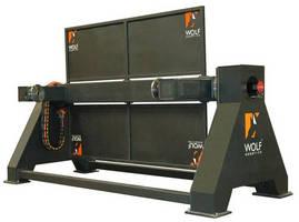 Heavy Duty Robotic Welding Positioner has 3 axis of movement.
