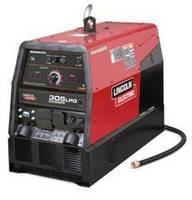 Multi-Process Welder is powered by 25 hp Kohler® LPG engine.