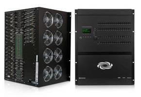 AV Matrix Switcher offers wide selection of I/O cards.