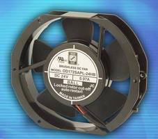 Stackable DC Fans offer airflow range from 120-225 cfm.