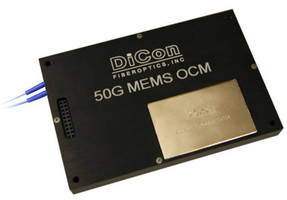 MEMS Optical Channel Monitor suits DWDM network testing.
