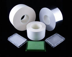 Adhesive Sealing Films are offered in roll format.