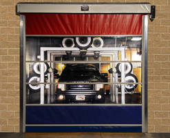 High Speed Car Wash Door withstands corrosive environments.