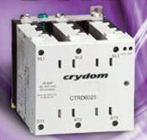 Solid State Contactor Relays offer 3-phase AC output.