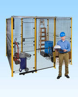 Welded Wire Partition System offers easy installation.