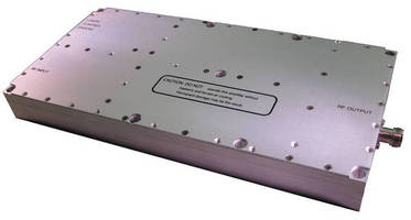 RF Power Amplifier delivers 150 W over 1.75-1.85 GHz range.