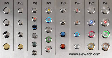 E-Switch Announces a Full Line of Anti-Vandal Switch Products