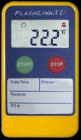 Temperature Data Logger suits in-transit applications.