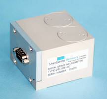 Servo Inclinometers offer RS485 ASCII digital output.