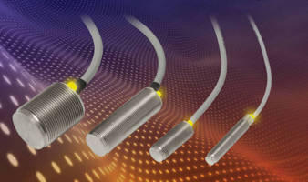 Inductive Proximity Sensors feature stainless steel housing.