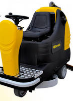 Ride-On Automatic Floor Scrubber offers quiet operation.