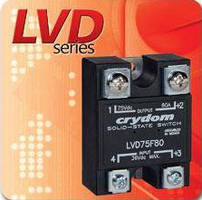 Low Voltage Disconnect Switch suits 12, 24 V battery systems.