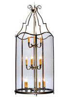 Decorative Lighting Pendants are crafted from solid brass.