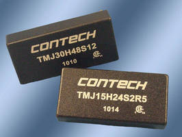DC/DC Converter delivers 25-30 W of output power.