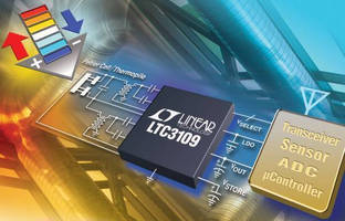 DC to DC Converter is suited for thermal energy harvesting.