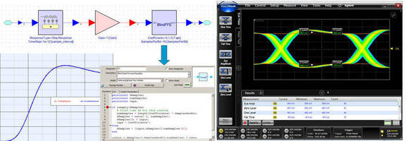 Agilent Technologies Offers Industry's First Automatic IBIS-AMI Model Generation Capability in an ESL Design Flow