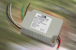 Constant Current LED Drivers deliver 3.7-52 W output.