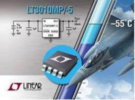 High Voltage, Low Dropout Linear Regulators Operate down to -55°C