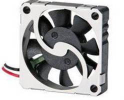 Micro Sized Fan is rated for low power consumption at .175 W.
