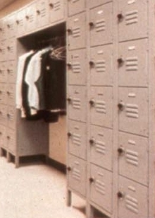 Steel Lockers are available in different styles.