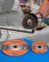Aluminum Cut-Off Wheels feature 0.045 in. thin-profile.